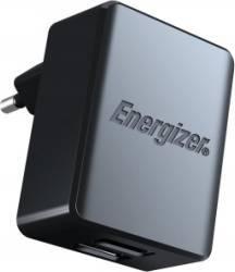 Incarcator De Retea Energizer 2 x USB 3.4A + Cablu microUSB 1m Negru Incarcatoare Telefoane