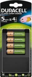 Incarcator Duracell CEF15+Acumulatori AAK4 1300mAh Acumulatori Baterii Incarcatoare