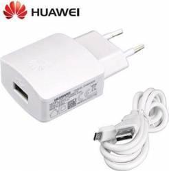 Incarcator Huawei MicroUSB 9v 2A + Cablu Date Alb Incarcatoare Telefoane