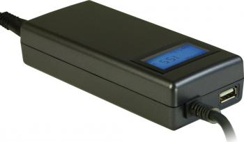 Incarcator Laptop Inter-Tech CobaNitrox 90W Universal Acumulatori Incarcatoare Laptop