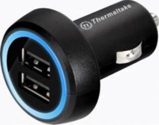 Incarcator Auto Thermaltake TriP Dual USB  Incarcatoare Auto