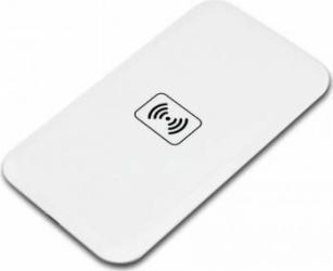 Incarcator Pad wireless QI charger, Alb