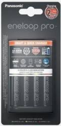 Incarcator Panasonic Loader BQ-CC55 + 4x R6/AA 2500 mAh Acumulatori Baterii Incarcatoare