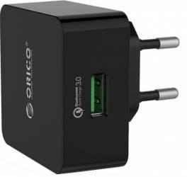 Incarcator Retea GSM Orico QTW-1U Universal Black Incarcator