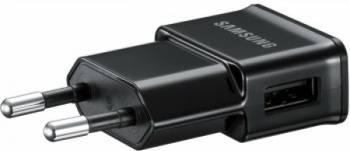 Incarcator Samsung ETA0U80EBEGSTD Micro USB Black Incarcatoare Telefoane