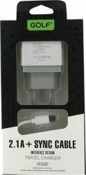 Incarcator USB Golf VOIAJ U2SET Micro USB Alb Incarcator