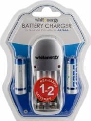 Incarcator Whitenergy 2xAA sau AAA + 2xAA R6 2800mAh Acumulatori Baterii Incarcatoare