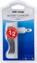 Incarcator Whitenergy 2xAA sau AAA Acumulatori Baterii Incarcatoare