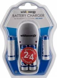 Incarcator Whitenergy 4xAA sau AAA + 4xAA R6 2800mAh Acumulatori Baterii Incarcatoare