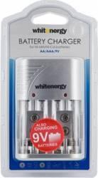 Incarcator Whitenergy 4xAA sau AAA si 2x6F22 9V Acumulatori Baterii Incarcatoare