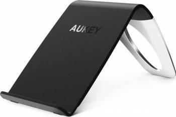 Incarcator wireless Aukey QI LC-C1 3 bobine 5W Negru Incarcatoare Telefoane
