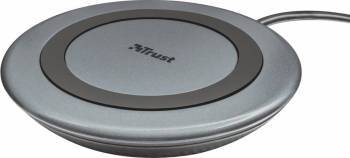 Incarcator wireless Trust Yudo10 Gri Incarcatoare Telefoane
