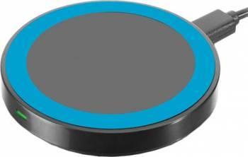 Incarcator Wireless Yuppi Love Tech Albastru Incarcatoare Telefoane