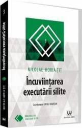 Incuviintarea executarii silite - Nicolae-Horia Tit