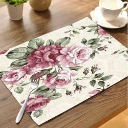 Individual BBC 35x45 cm - Flori Roz Articole pentru servit