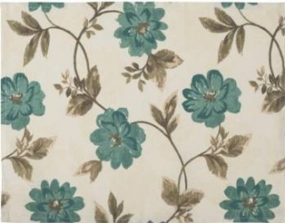Individual BBC 35x45 cm- Flori Albastre Articole pentru servit