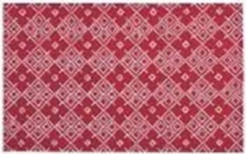 Individual Flori rosii 33 x 48 cm Articole pentru servit