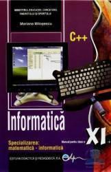 Informatica Cls 11 2011 - Mariana Milosescu