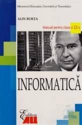 Informatica Cls 12 2007 - Alin Burta