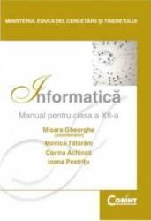 Informatica Cls 12 2007 - Mioara Gheorghe Monica Tataram