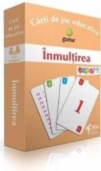 Inmultirea - Carti de joc educative Carti