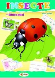 Insecte mapa - Inesa Tautu Carti