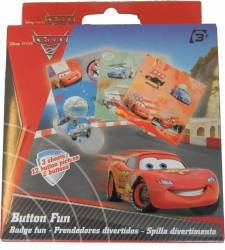 Insigna Disney Personaje Multiple - Cars Multicolor