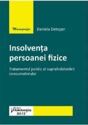 Insolventa persoanei fizice - Daniela Detesan