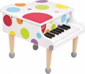 Instrument muzical Janod Confetti Grand Piano Jucarii muzicale