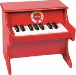 Instrument muzical Janod Confetti Red Piano Jucarii muzicale