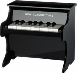 Instrument muzical New Classic Toys Black Piano - 18 Tone Jucarii muzicale