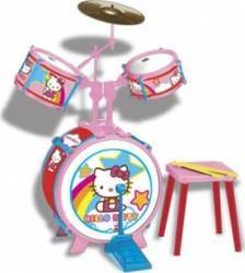 Instrument muzical Reig Musicales Drum Set Hello Kitty Jucarii muzicale