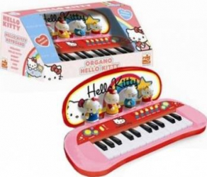 Instrument muzical Reig Musicales Hello Kitty Keyboard Jucarii muzicale
