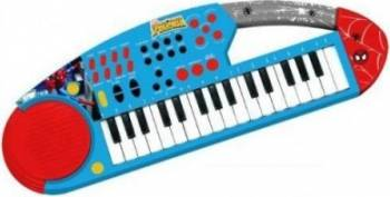Instrument muzical Reig Musicales Keyboard With Microphone - Spiderman Jucarii muzicale