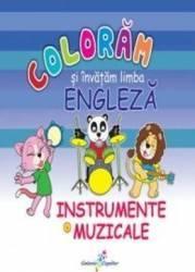 Instrumente Muzicale - Coloram Si Invatam Limba Engleza