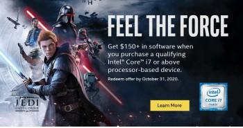 pret preturi Intel Galactic Gaming Bundle (Star Wars Jedi: Fallen Order)