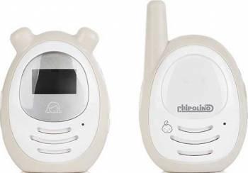 Interfon digital Chipolino Zen beige Monitorizare bebelusi