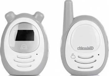 Interfon digital Chipolino Zen grey Monitorizare bebelusi