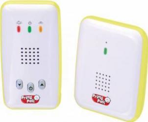 Interfon digital Primii Pasi R0933 Alb Monitorizare bebelusi