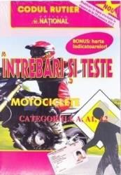 Intrebari si teste categoriile A A1 A2 Motociclete