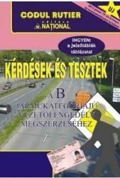 Intrebari si teste in lb. maghiara pentru obtinerea permisului de conducere B. 2018