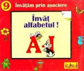Invat alfabetul A-I - Invatam prin asociere Carti