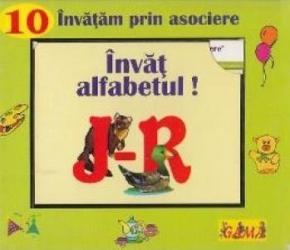 Invat alfabetul J-R - Invatam prin asociere Carti