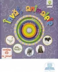 Invat animalele Contine CD cu jocuri