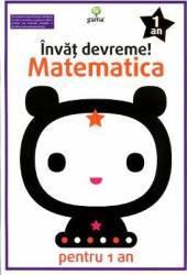 Invat devreme Matematica pentru 1 an