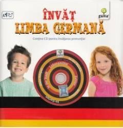 Invat limba germana contine CD cu jocuri