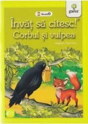 Invat sa citesc Corbul si vulpea. Adaptare dupa Esop. Nivelul 0