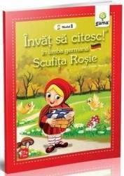 Invat sa citesc in limba germana - Scufita Rosie - Nivelul 1