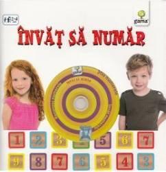 Invat sa numar contine CD cu jocuri