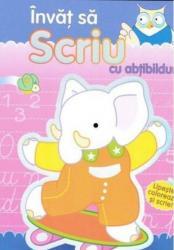 pret preturi Invat sa scriu cu abtibilduri - Editura Girasol